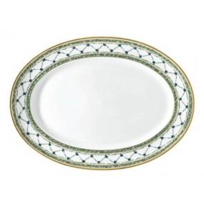 """Allee Royale Platter Oval 14"""""""