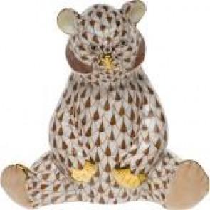 Bear Baby Sitting Chocolate