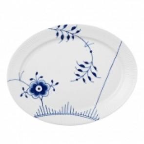 Blue Fluted Mega Platter Oval