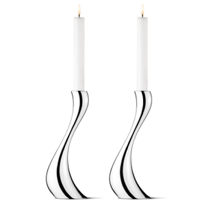 Cobra Candleholder Pair, Large