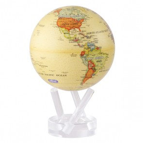 "Globe W/Base 4.5"" Antique"