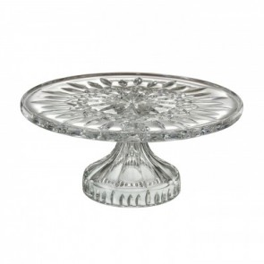 """Lismore Footed Cakeplate 11""""D"""