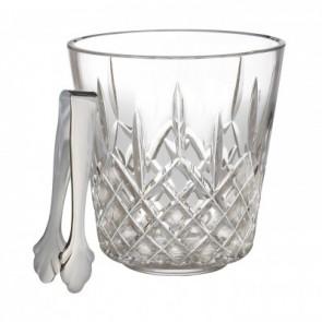 Lismore Ice Bucket W/Tongs