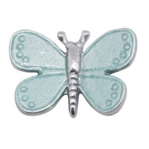 Napkin Weight Butterfly Aqua