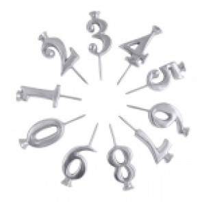 Number Candle Holders Set/10