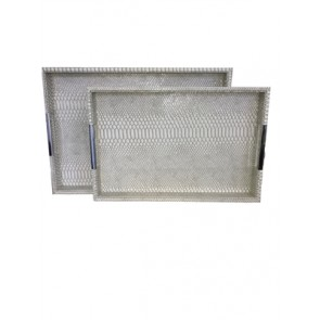 "Tray 12X18"" Croc Lt. Grey"