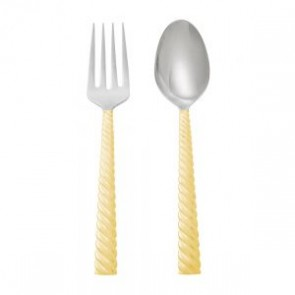 Twist Gold Serving Set 2Pc