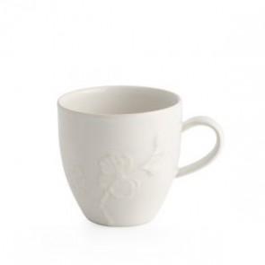 White Orchid Stoneware Mug
