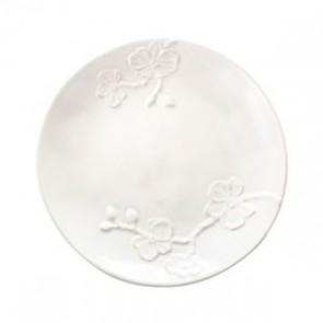 White Orchid Stoneware Salad